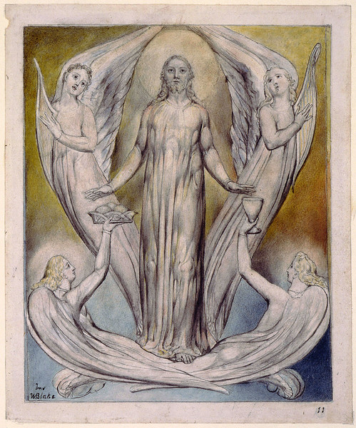 Christ Ministered to by Angels