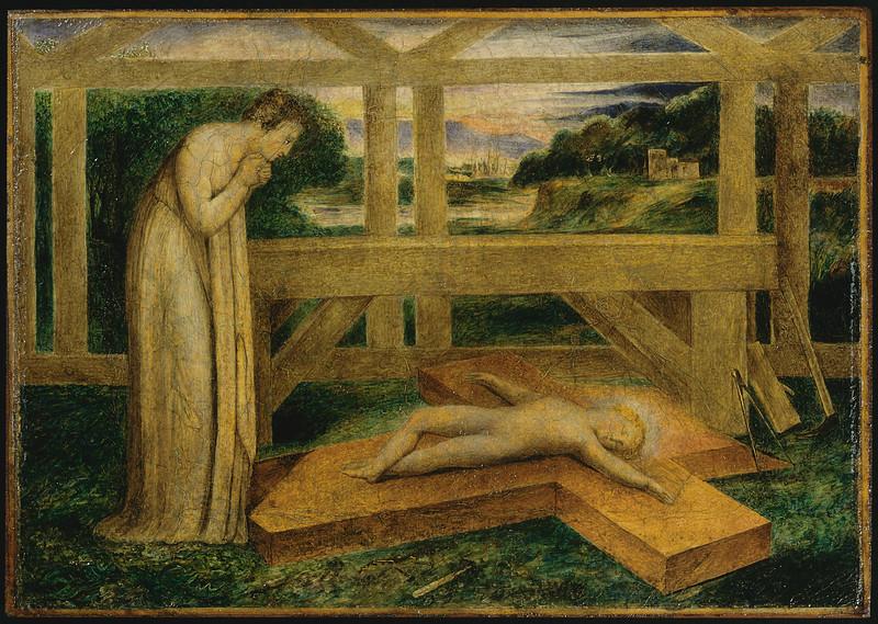 The Christ Child Asleep on a Cross