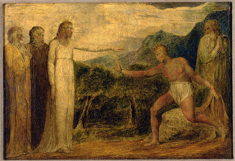 Christ Giving Sight to Bartimaeus