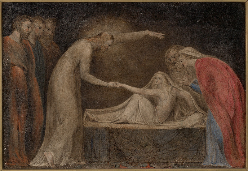 Christ Raising Jairus's Daughter