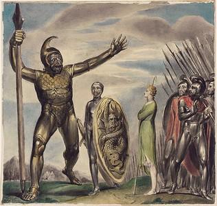 Goliath Cursing David