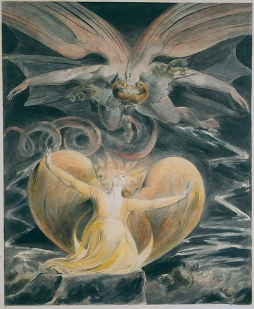 """The Great Red Dragon and the Woman Clothed with the Sun: """"The Devil is Come Down"""""""