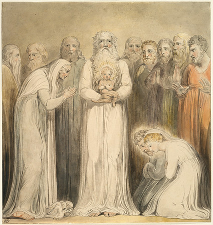 "The Presentation in the Temple: ""Simeon Was Not to See Death Before He Had Seen the Christ"""