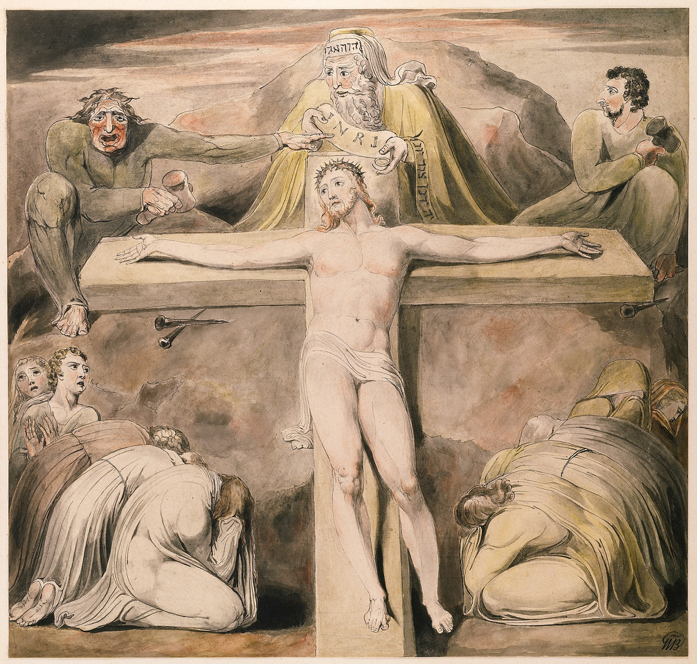 Christ Nailed to the Cross: The Third Hour