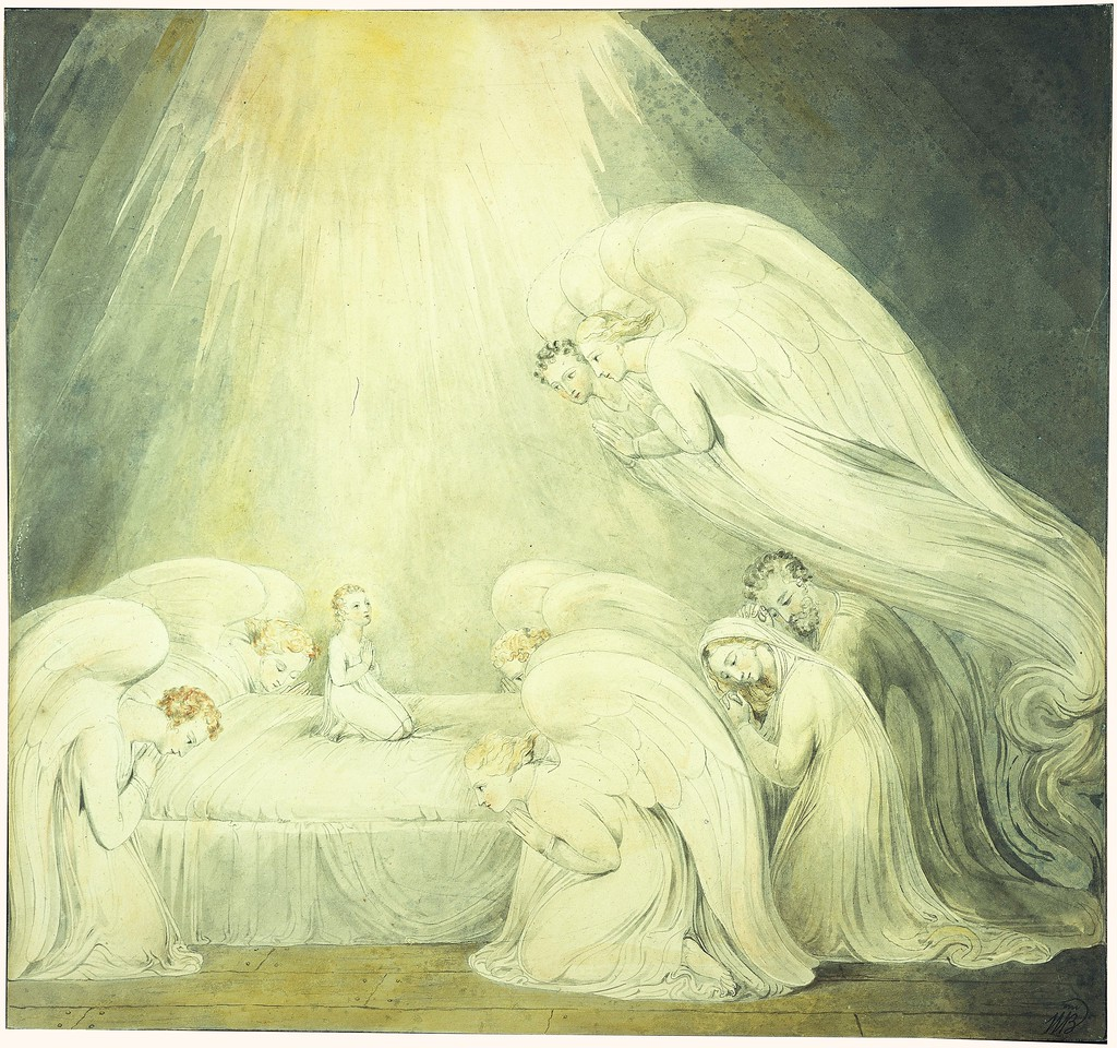 """The Infant Jesus Saying His Prayers: """"And the Grace of God Was Upon Him"""""""