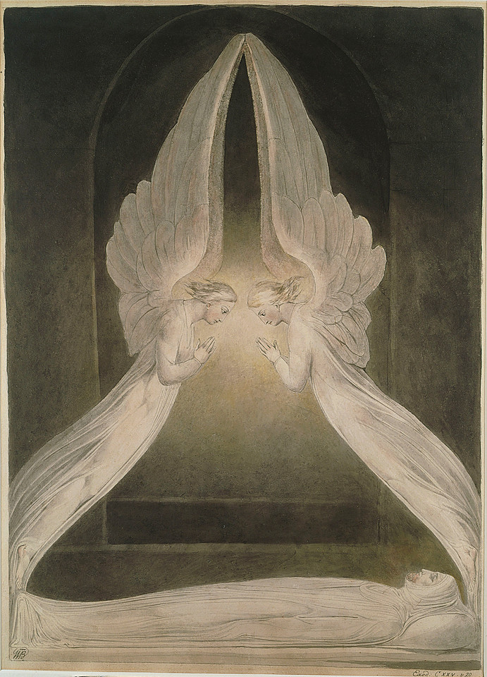 Christ in the Sepulchre, Guarded by Angels