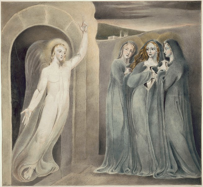 The Three Maries at the Sepulchre