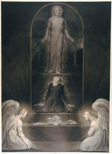 The Magdalene at the Sepulchre