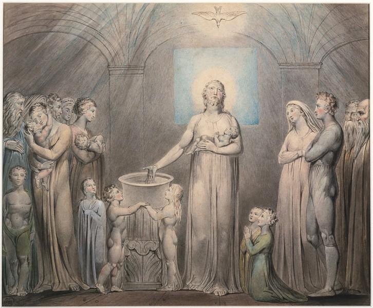 Christ Baptizing