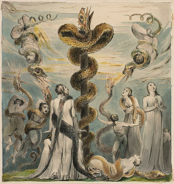 Moses Erecting the Brazen Serpent