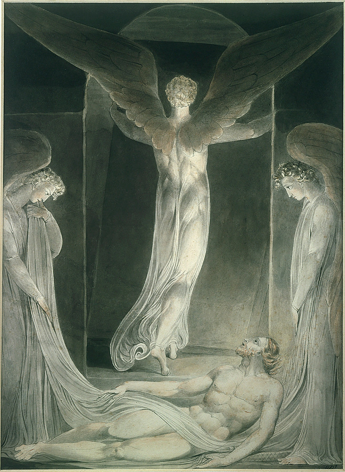 The Angel Rolling the Stone Away from the Sepulchre