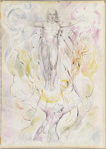 Dante Adoring Christ
