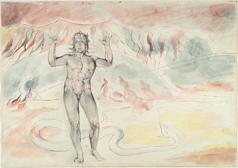 Buoso Donati Transformed into a Serpent; Francesco De' Cavalcanti Retransformed from a Serpent into a Man