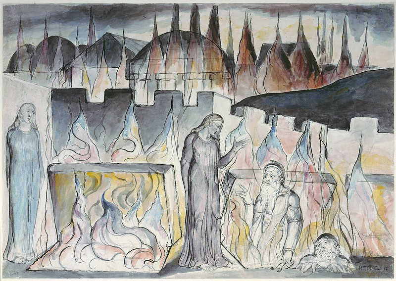 Dante Conversing with Farinata Degli Uberti