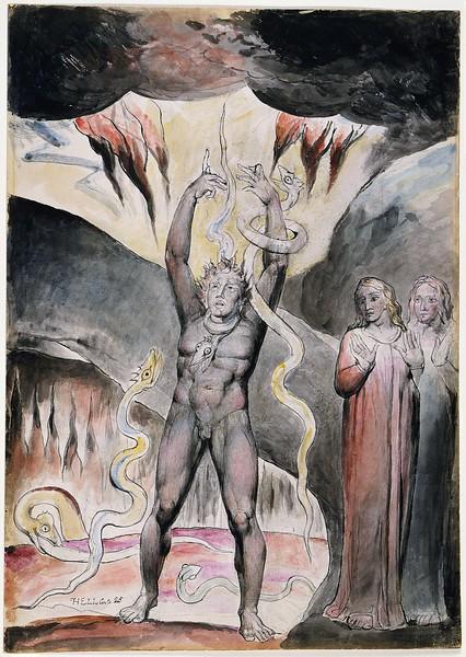 Vanni Fucci Making Figs Against God