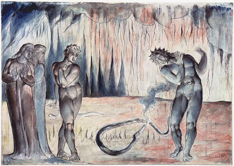 The Serpent Attacking Buoso Donati