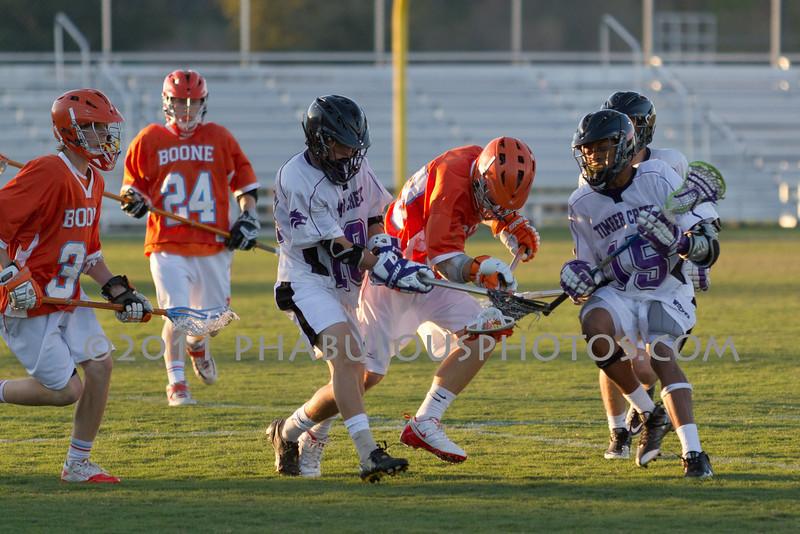Boone High School @ Timber Creek High School JV Lacrosse 2011 - DCEIMG-2179