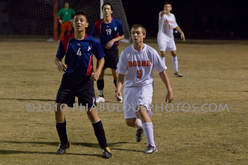 Freedom Patriots @ Boone High School Boys Varsity Soccer DCE-IMG-2010-1381
