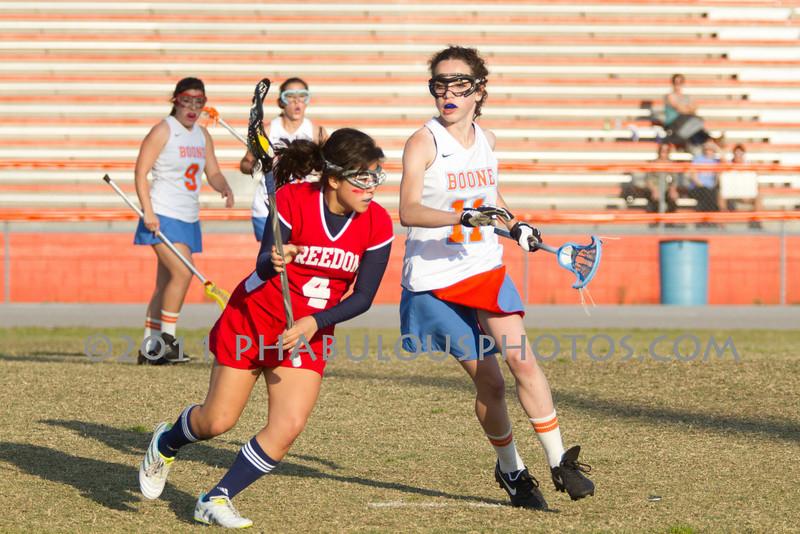 Freedom @ Boone Girls Varsity Lacrosse  - 2011 DCEIMG-3430