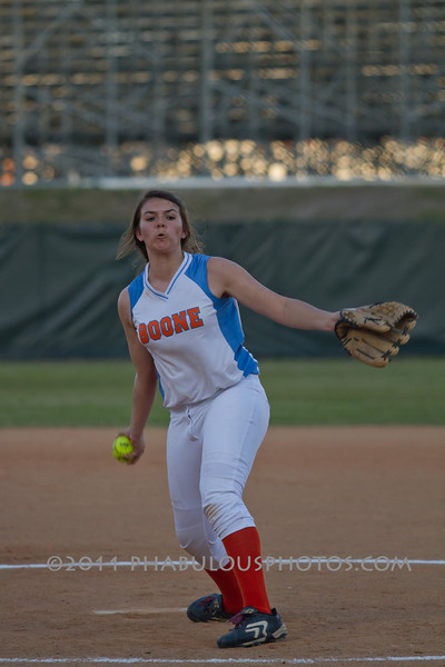 Colonial High School @ Boone Girls Softball  2011 - DCEIMG-8390
