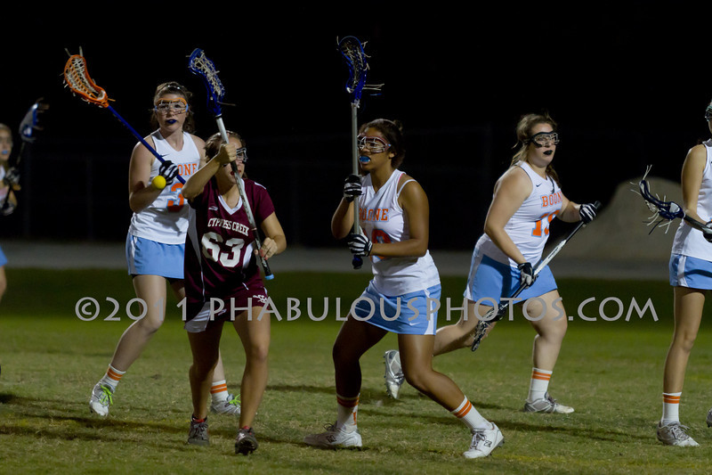Boone High School @ Cypress Creek Girls Varsity Lacrosse 2011 - DCEIMG-1989