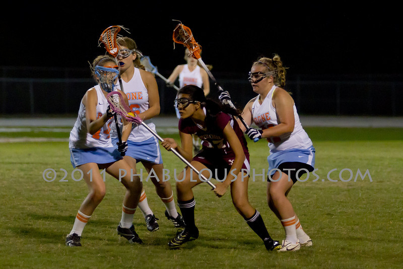 Boone High School @ Cypress Creek Girls Varsity Lacrosse 2011 - DCEIMG-2045