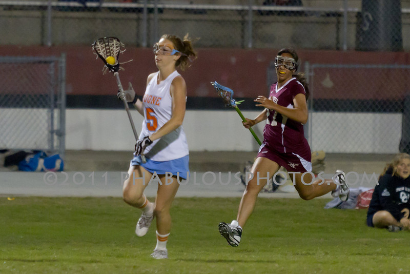 Boone High School @ Cypress Creek Girls Varsity Lacrosse 2011 - DCEIMG-2033