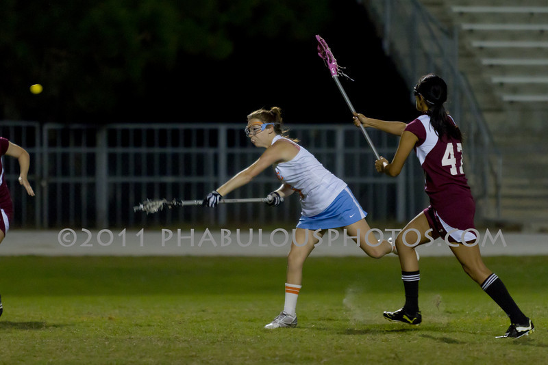 Boone High School @ Cypress Creek Girls Varsity Lacrosse 2011 - DCEIMG-2039