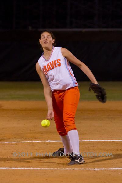 Seminole High School @ Boone Girls Softball  2011 - DCEIMG-8183