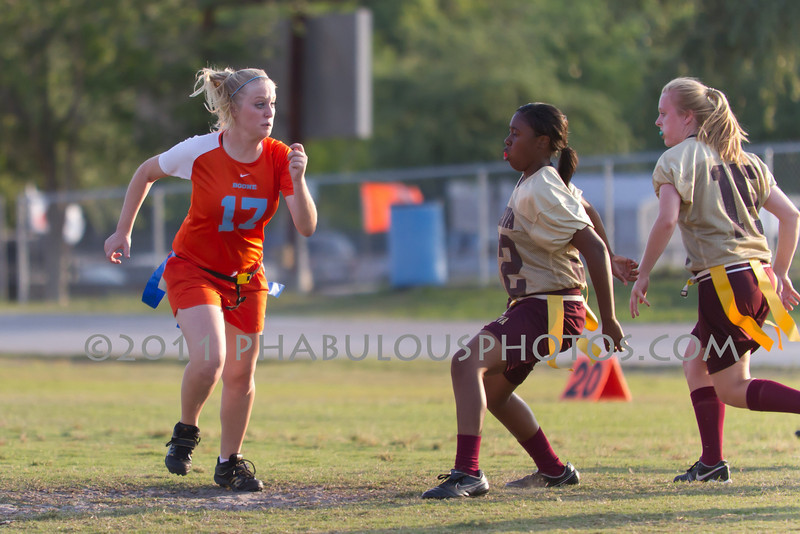 Wekiva @ Boone Girls Varsity Flag Football - 2011 DCEIMG-5455