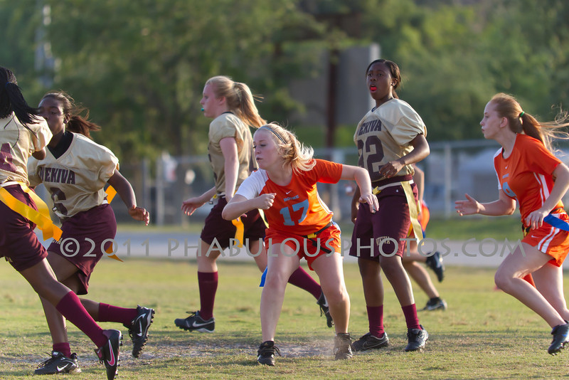 Wekiva @ Boone Girls Varsity Flag Football - 2011 DCEIMG-5456