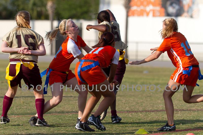 Wekiva @ Boone Girls Varsity Flag Football - 2011 DCEIMG-5374