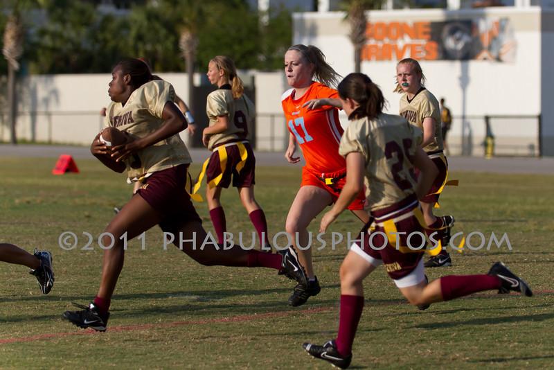 Wekiva @ Boone Girls Varsity Flag Football - 2011 DCEIMG-5408