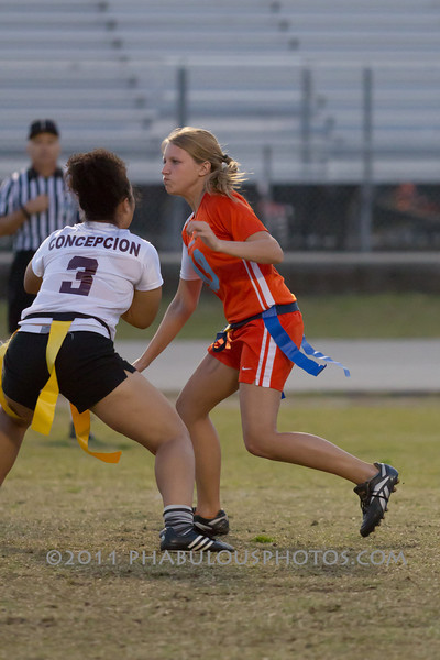 Cypress Creek @ Boone Varsity Girls Flag Football 2011 DCEIMG-2953
