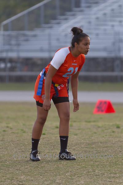Cypress Creek @ Boone Varsity Girls Flag Football 2011 DCEIMG-2870