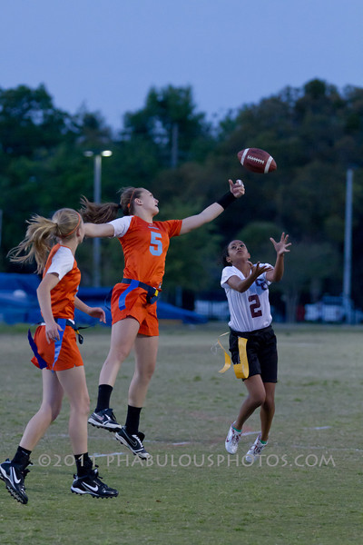 Cypress Creek @ Boone Varsity Girls Flag Football 2011 DCEIMG-2956