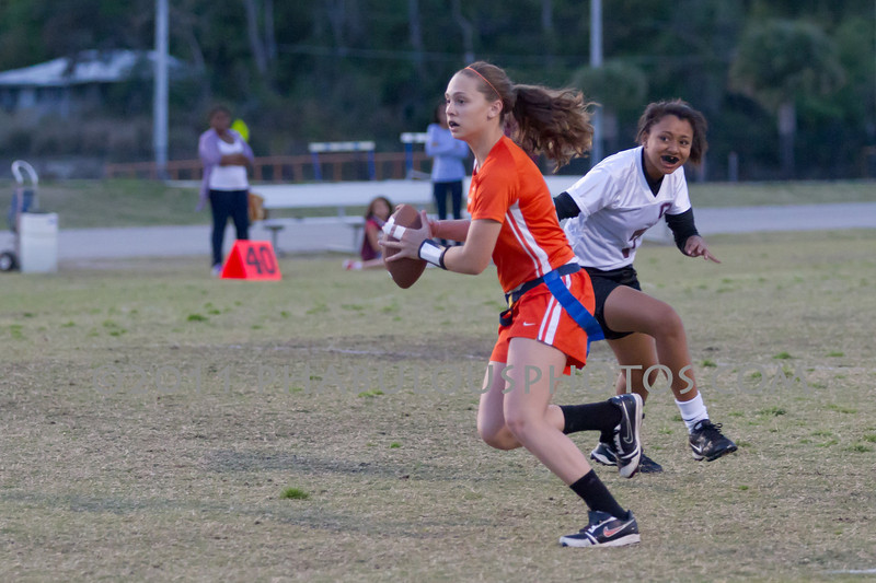 Cypress Creek @ Boone Varsity Girls Flag Football 2011 DCEIMG-2935