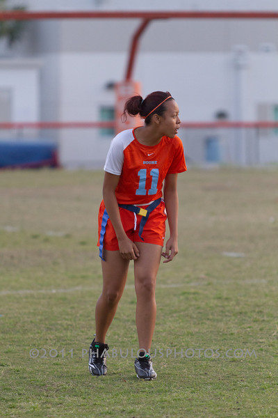 Cypress Creek @ Boone Varsity Girls Flag Football 2011 DCEIMG-2855