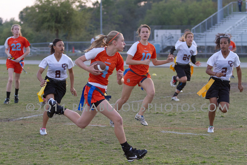 Cypress Creek @ Boone Varsity Girls Flag Football 2011 DCEIMG-2861