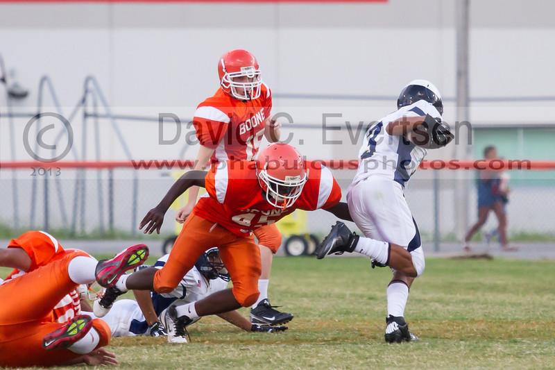 University Cougars @ Boone Braves JV Football - 2013 - DCEIMG-5830