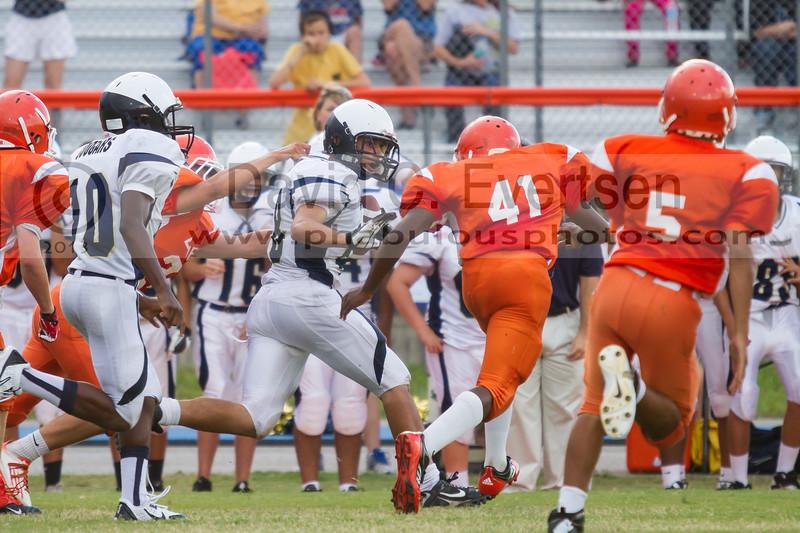 University Cougars @ Boone Braves JV Football - 2013 - DCEIMG-5745