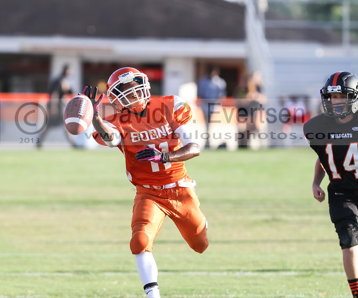 Winter Park Wildcats @ Boone Braves JV Football  - 2013 - DCEIMG-8852