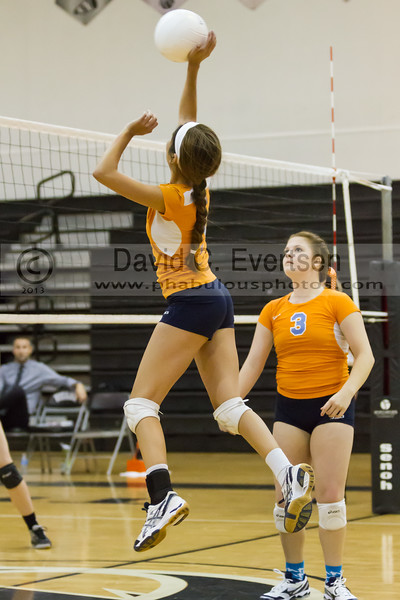 Boone Braves @ Olympia Titans  Girls Varsity Volleyball - 2013 - DCEIMG-1404
