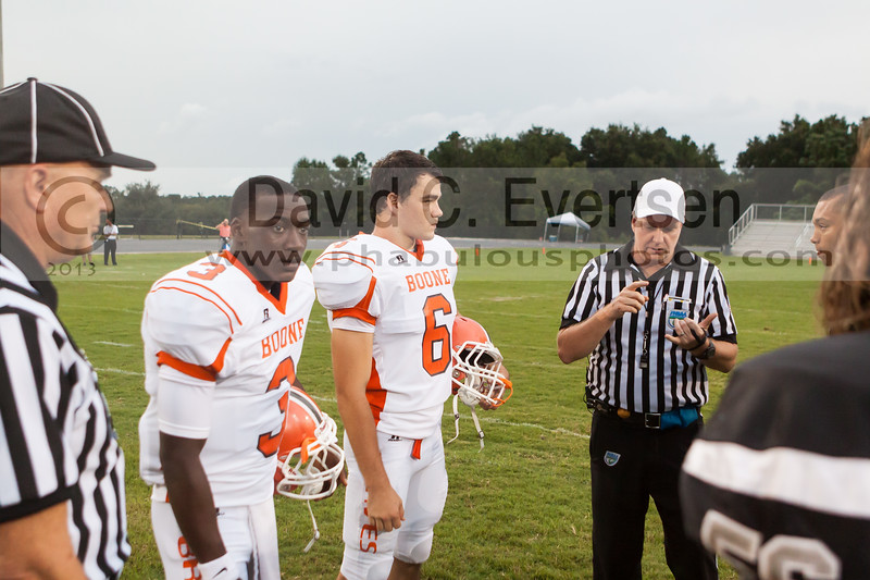 Boone Braves @ Olympia Titans Varsity Football Kickoff Classic - 2013 - DCEIMG-6185