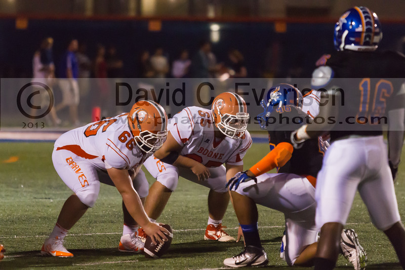 Boone Braves @ West Orange Warriors Varsity Football - 2013 - DCEIMG-2009