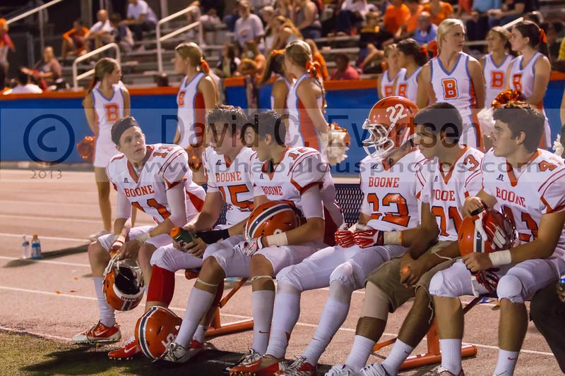 Boone Braves @ West Orange Warriors Varsity Football - 2013 - DCEIMG-2221