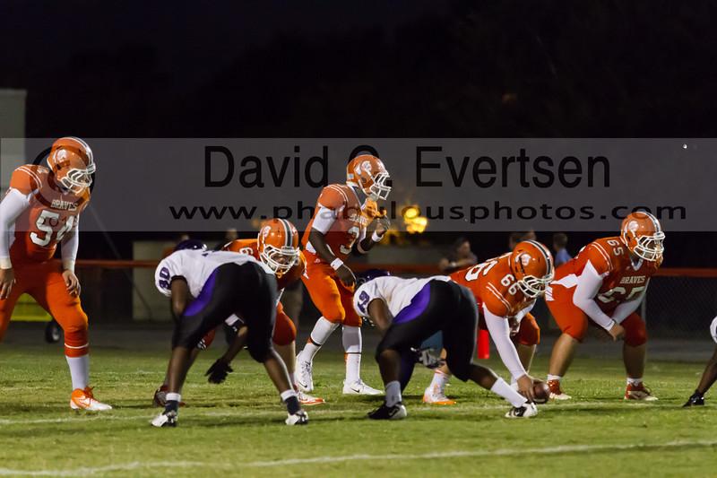 Timber Creek Wolves @ Boone Braves Varsity Football - 2013 - DCEIMG-4714