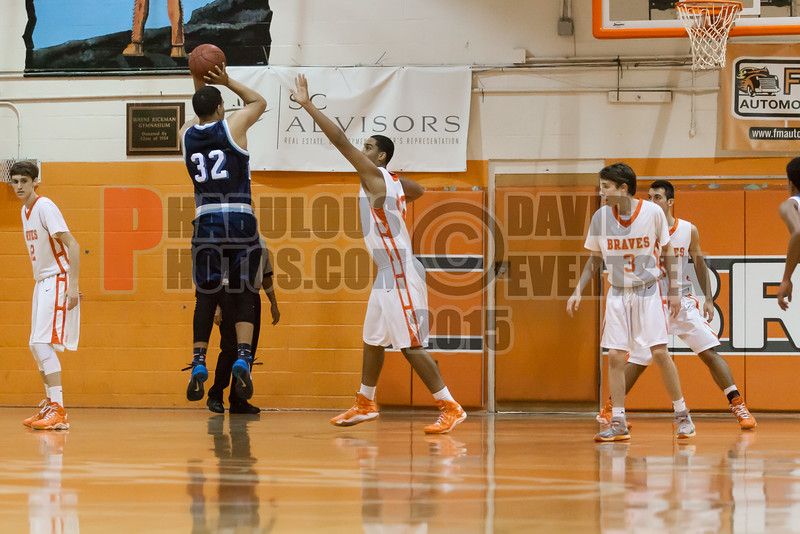 Dr  Phillips Panthers @ Boone Braves Boys Varsity Basketball - 2015 -DCEIMG-1908