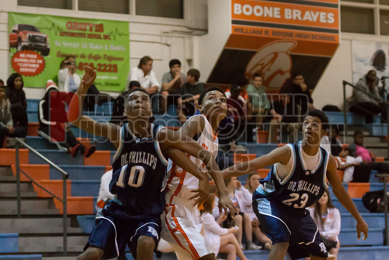 Dr  Phillips Panthers @ Boone Braves Boys Varsity Basketball - 2015 -DCEIMG-2018