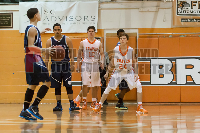 Dr  Phillips Panthers @ Boone Braves Boys Varsity Basketball - 2015 -DCEIMG-1915